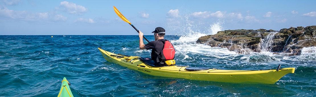 Sea kayaking courses